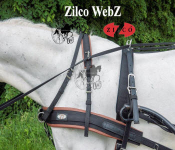 Zilco WebZ Carriage Driving Harness