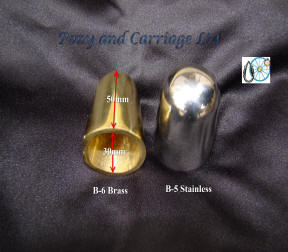 olid Brass Or Stainless Steel Cone Shaped Shaft Ends Tips