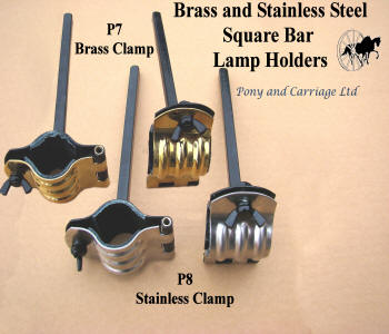 carriage lamp holdes