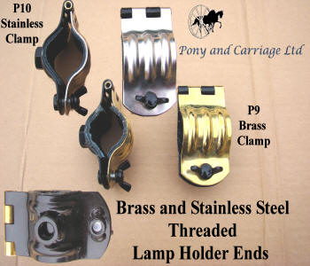 carriage lamp brackets brass or stainless steel