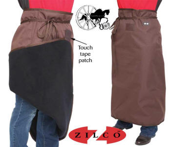 Zilco Carriage Driving Chocolate Apron