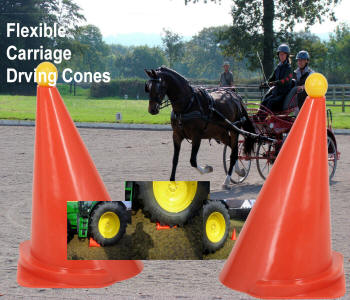 Flexible Carriage Driving Cones