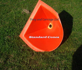 Non Flexible Carriage Driving Cones Base
