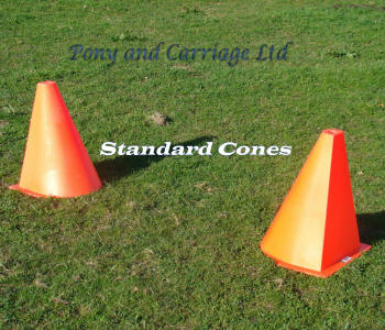 Non Flexible Carriage Driving Cones