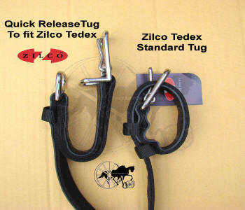 Horse Harness Quick Release and Standard Tug Loop Comparison