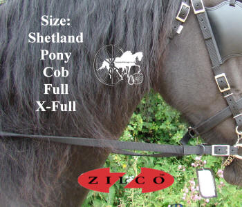 Zilco Tedex Standard Carriage Driving  Harness Reins