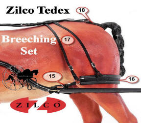 Zilco Tedex Harness Complete Breeching Set