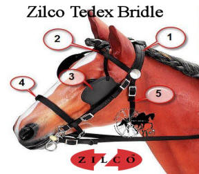 Zilco Tedex Harness Complete Bridle Set