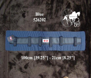 Zilco Blue Memory Foam Horse Harness Saddle Pads