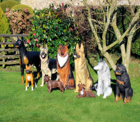 Life Sized Dog Models