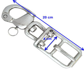 Horse Harness Quick Release Swivel Shackles and Buckle