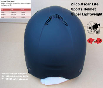 Carriage Driving Helmet Zilco Oscar Lite 5
