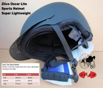 Carriage Driving Helmet Zilco Oscar Lite 2