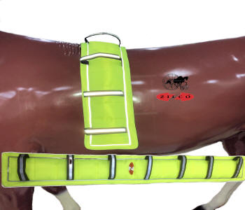 Hi Vis Carriage Driving Saddle Pads