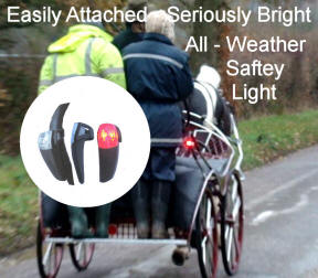 Carriage Driving bright Led Safety Lights