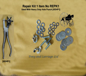 Carriage Driving Spares - Repair Kits